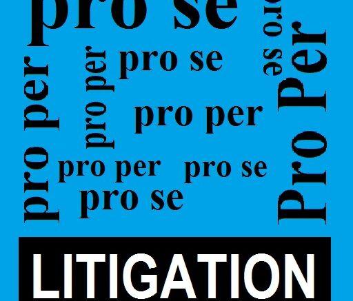 Pro Se and Pro Per